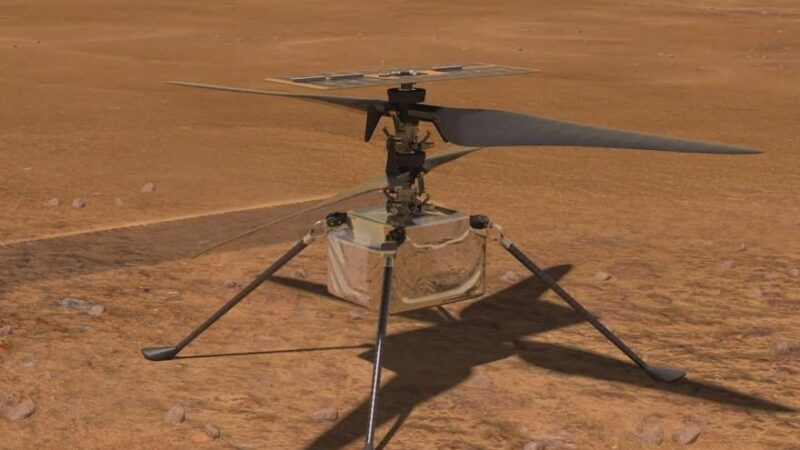 NASA's robot helicopter makes history with successful takeoff and landing on Mars