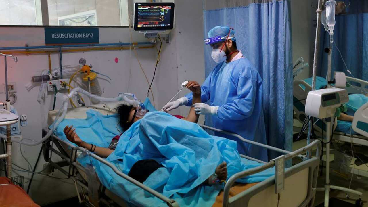Indian doctors warn of yellow fungus seen in Covid patient