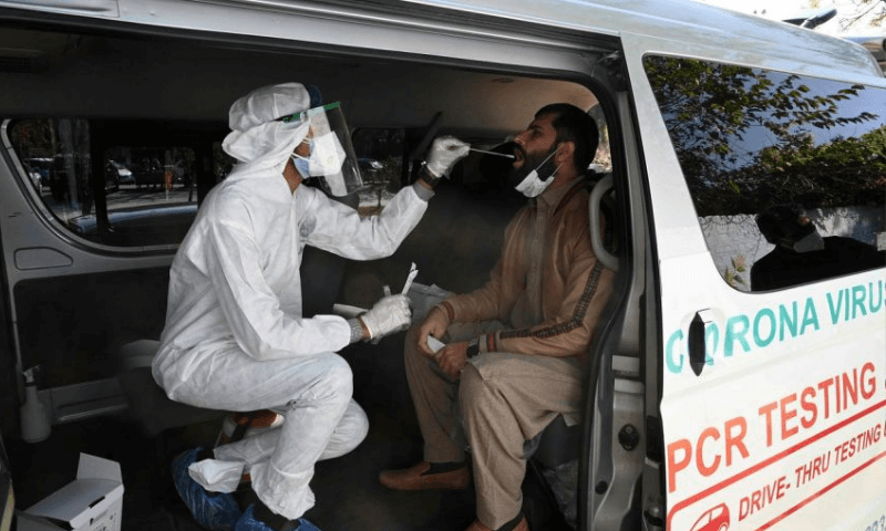 Pakistan's coronavirus positivity rate falls to the lowest level