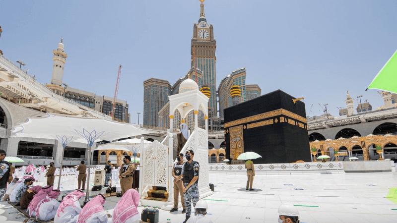 Imam's pulpit in Makkah