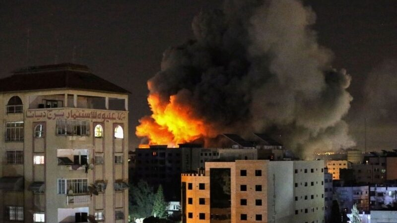 48 killed in Gaza as Israel launches hundreds of air strikes in the city