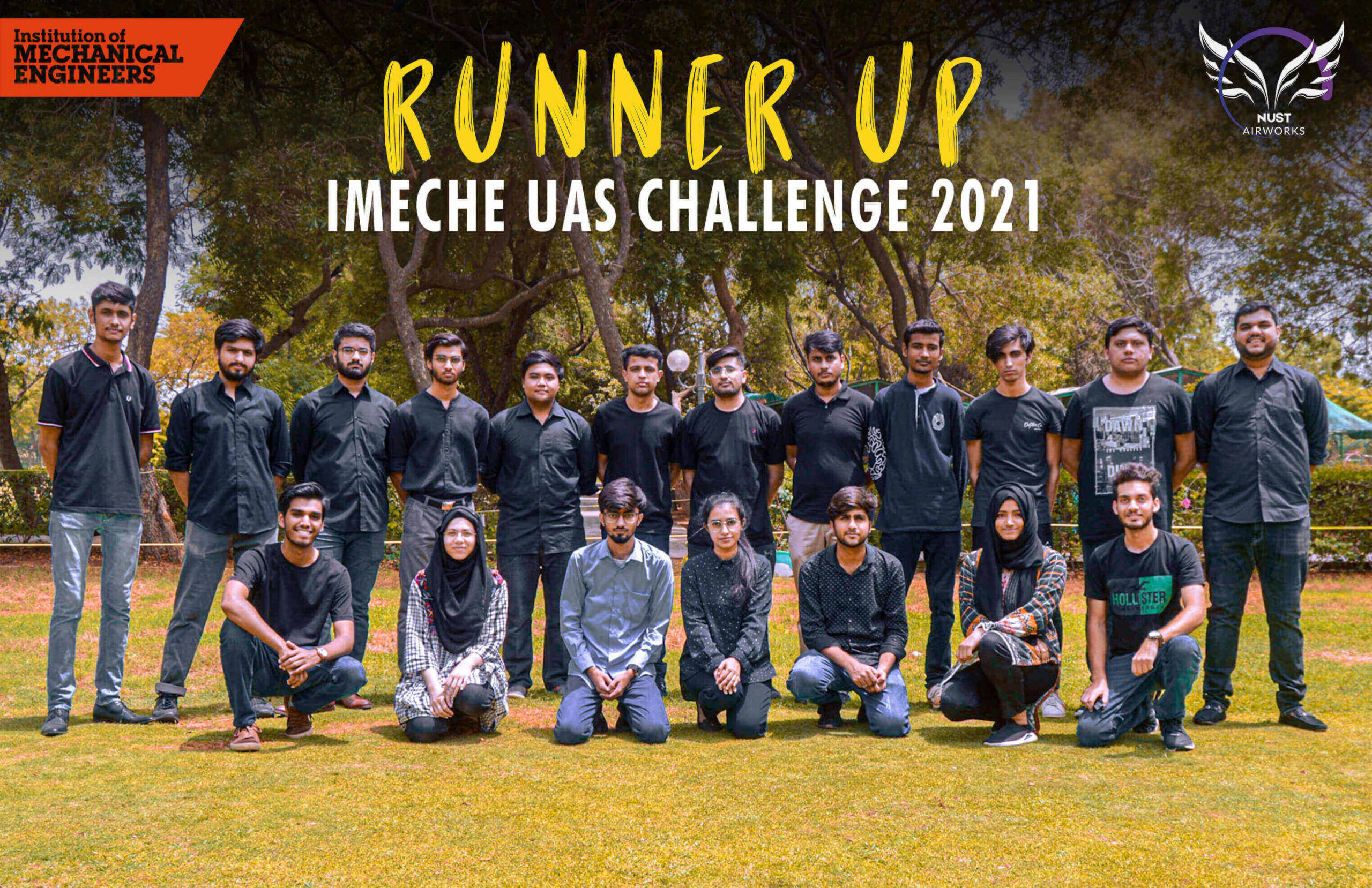 'Team NUST Airworks' wins the Runner Up Award at U.K's IMechE UAS Challenge 2021