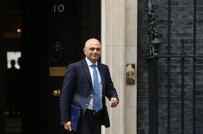 UK appoints Pakistani descent Sajid Javid as its health secretary