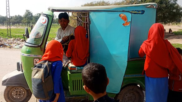 Rickshaw driver Arab Shah, gives free rides to 100+ girls attending schools to promote girls' education