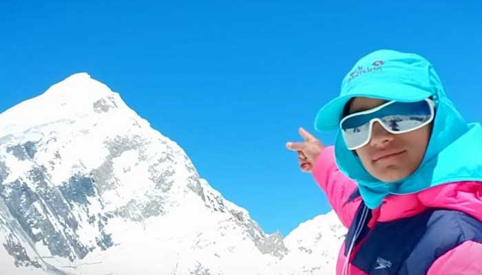 12-year-old Pakistani mountain princess sets off on mission to summit board peak