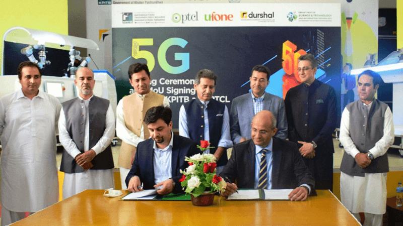 5G tests in Peshawar
