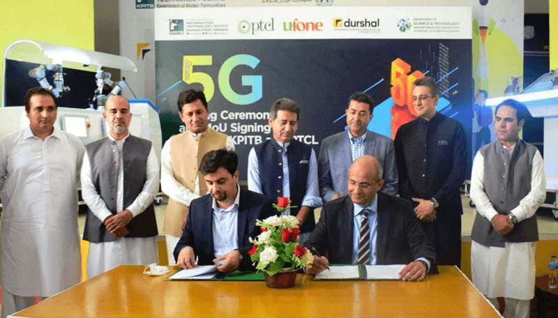 KPK leads in IT sector with successful 5G tests in Peshawar