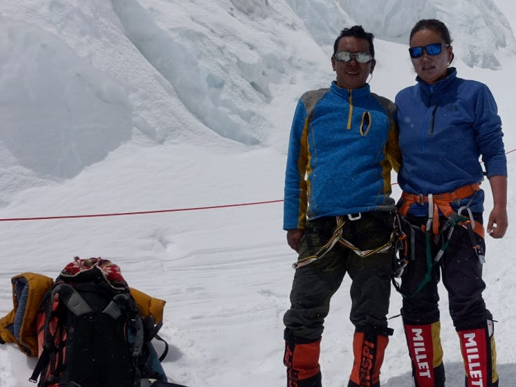 Mountaineer Lakpa Sherpa claims this is the most challenging season of his career