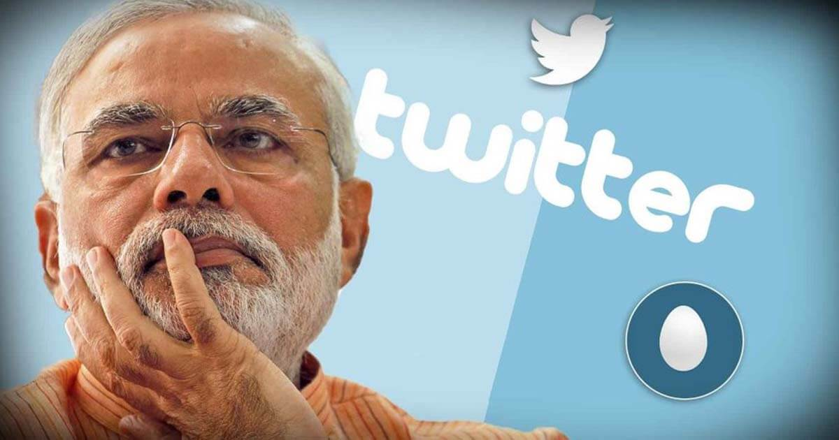 Modi govt blackmails Twitter over its controversial map