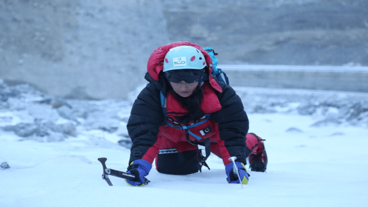 Samina Baig is preparing to set off for her K-2 expedition 2021