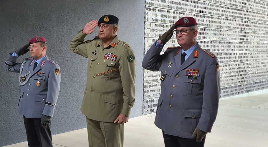 Germany and Pakistan pledge to enhance defense and security ties at all levels