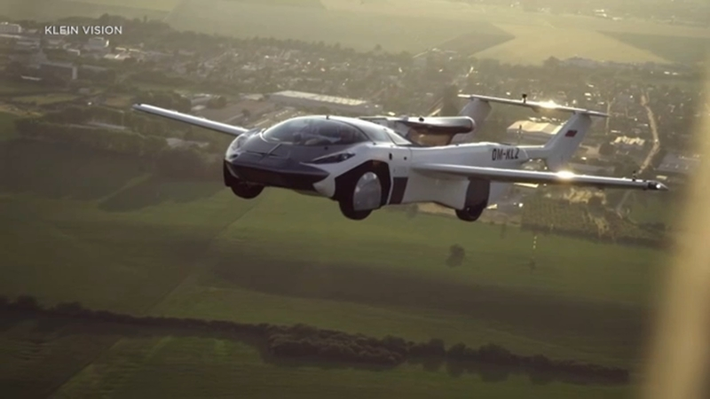 First flying car completes test flight between airports in 35 minutes