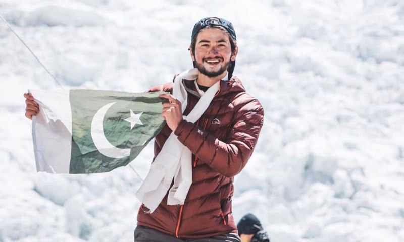 Pakistani climber Shehroze Kashif become youngest person to summit two highest mountains in world