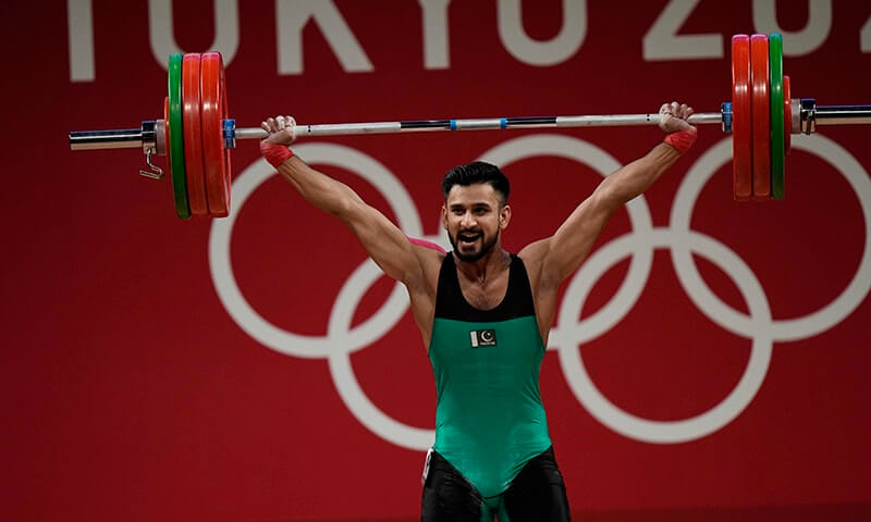 Talha Talib misses out on Tokyo's maiden Olympic weightlifting medal for Pakistan