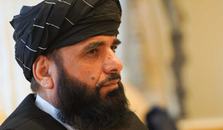 Afghan Taliban spokesperson Sohail Shaheen