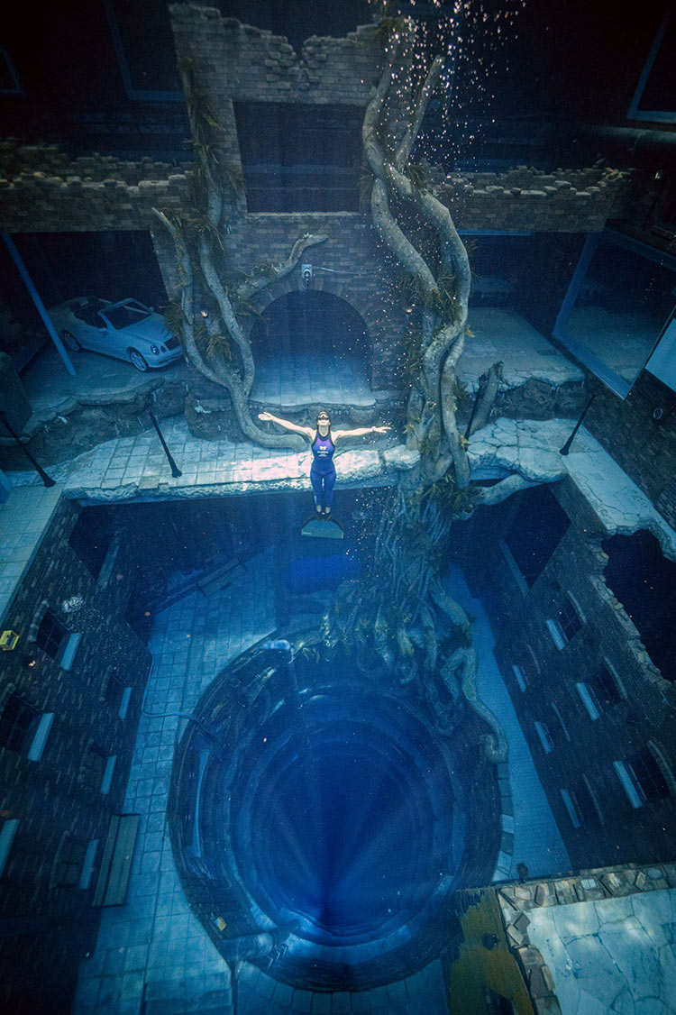 Dubai enters Guinness Book of World Records to open world's deepest swimming pool
