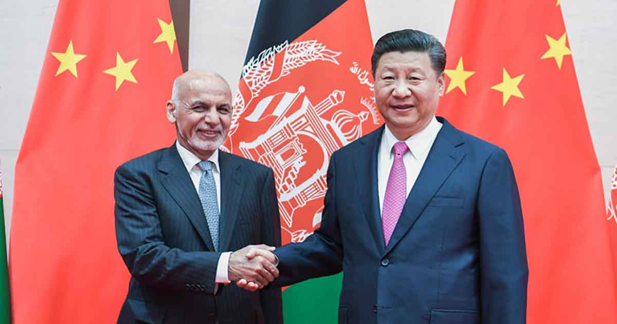 China plans to enter Afghanistan to fill the vacuum left by the U.S.
