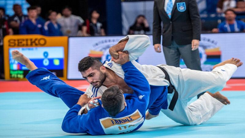 Algerian judoka