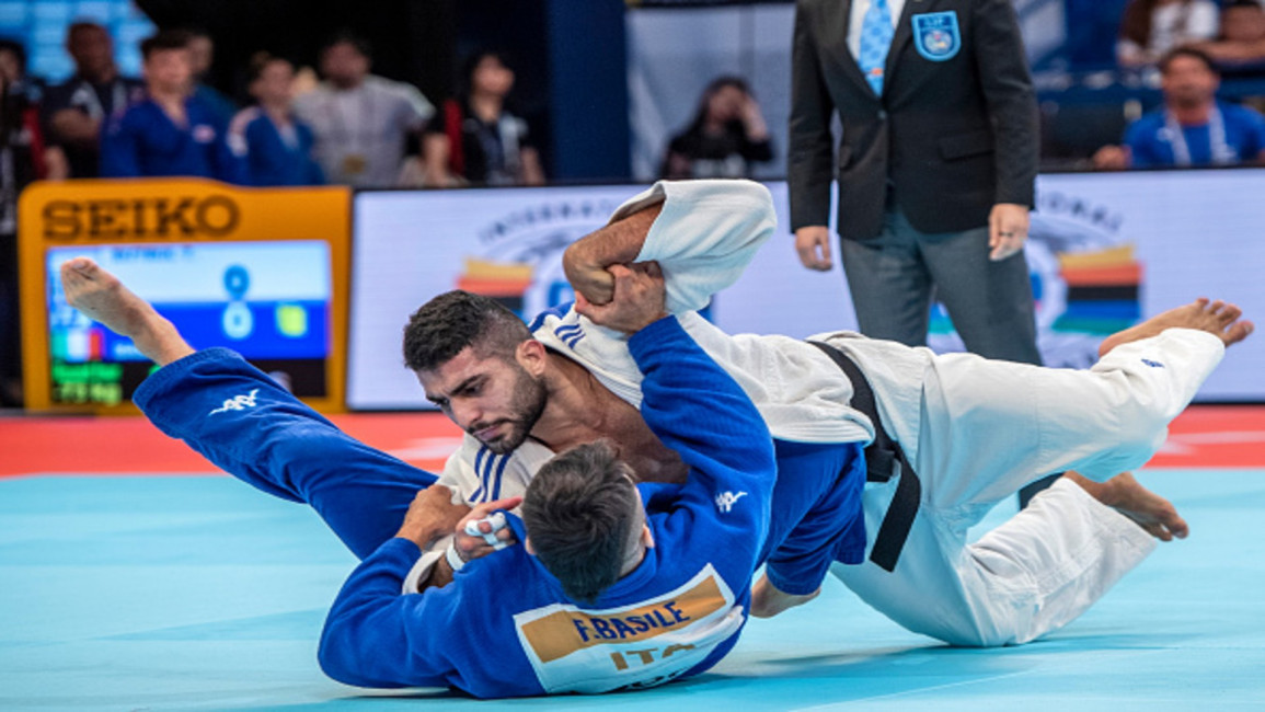 Algerian judoka sent home from Olympics after refusing to compete against Israeli opponent