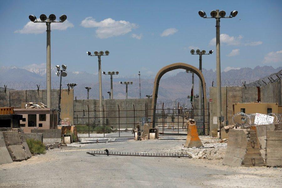 U.S. troops leave Bagram airbase in Afghanistan as final withdrawal approaches