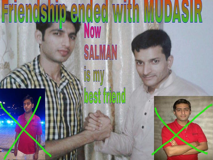 NFT meme auction selects iconic and viral meme 'Friendship Ended with Mudasir'