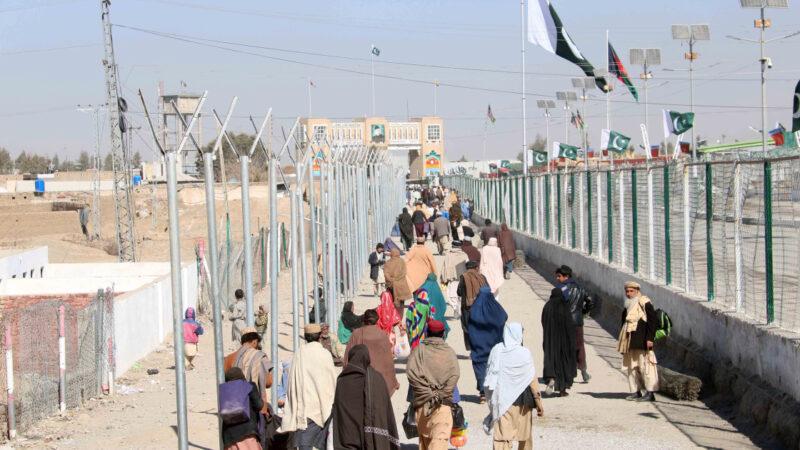 Afghan-Pakistan border crossings