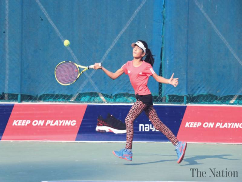 Pakistan's emerging tennis star Haniya Minhas wins the Under-14 Sobir Cup Asian Tennis Federation
