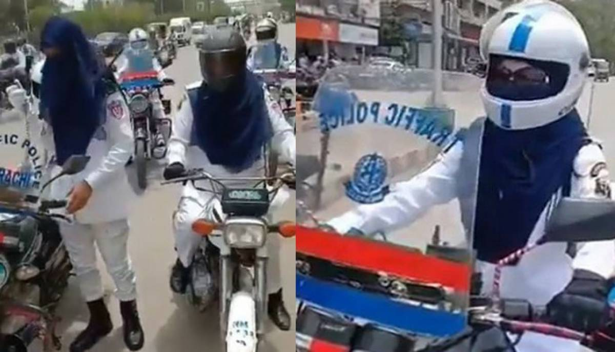 Karachi gets first female traffic wardens as patrolling officers