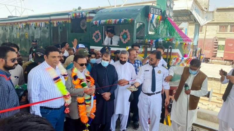 Pakistan Railway's new Bostan-Kolpur tourist train boosts tourism in Balochistan