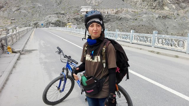 Samar Khan becomes first woman to reaches k2 base camp on cycle