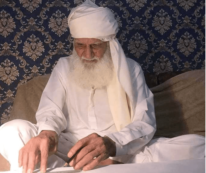 85-year-old Mushtaq Ahmed spends 26 years making  new design of Holy Quran