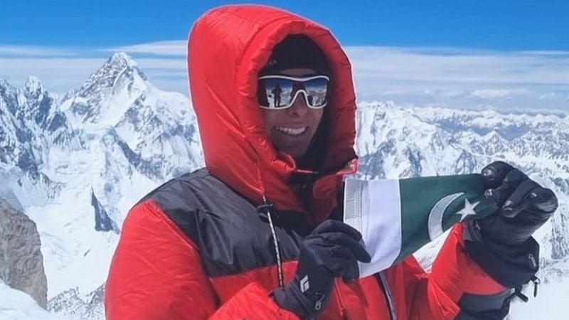Naila Kiani becomes first Pakistani women to summit 8,035 meters peak Gasherbrum II in Pakistan