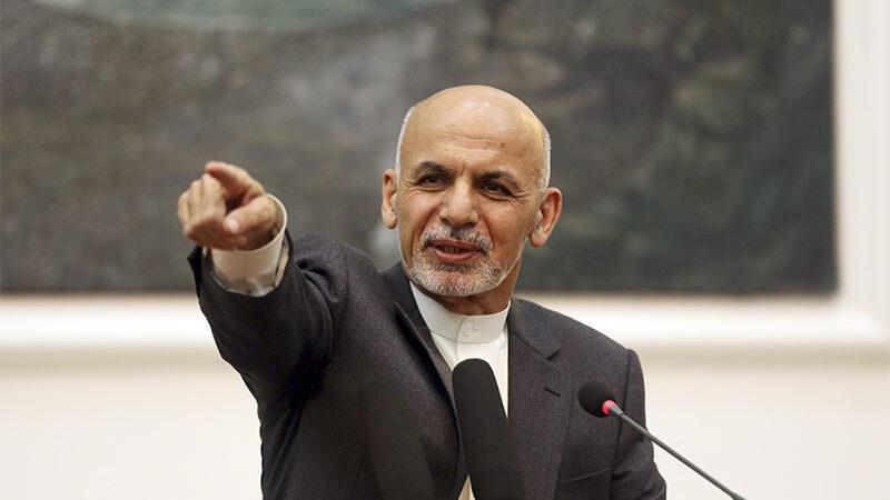 Ashraf Ghani fled with four cars