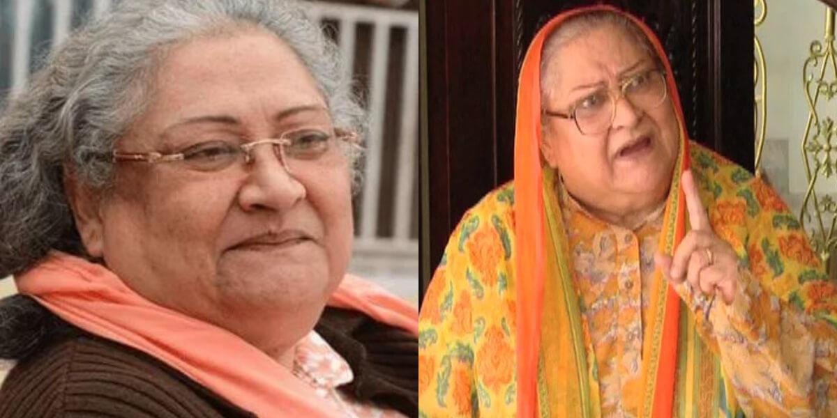 Legendary actress Durdana Butt passes away at 83 after long illness