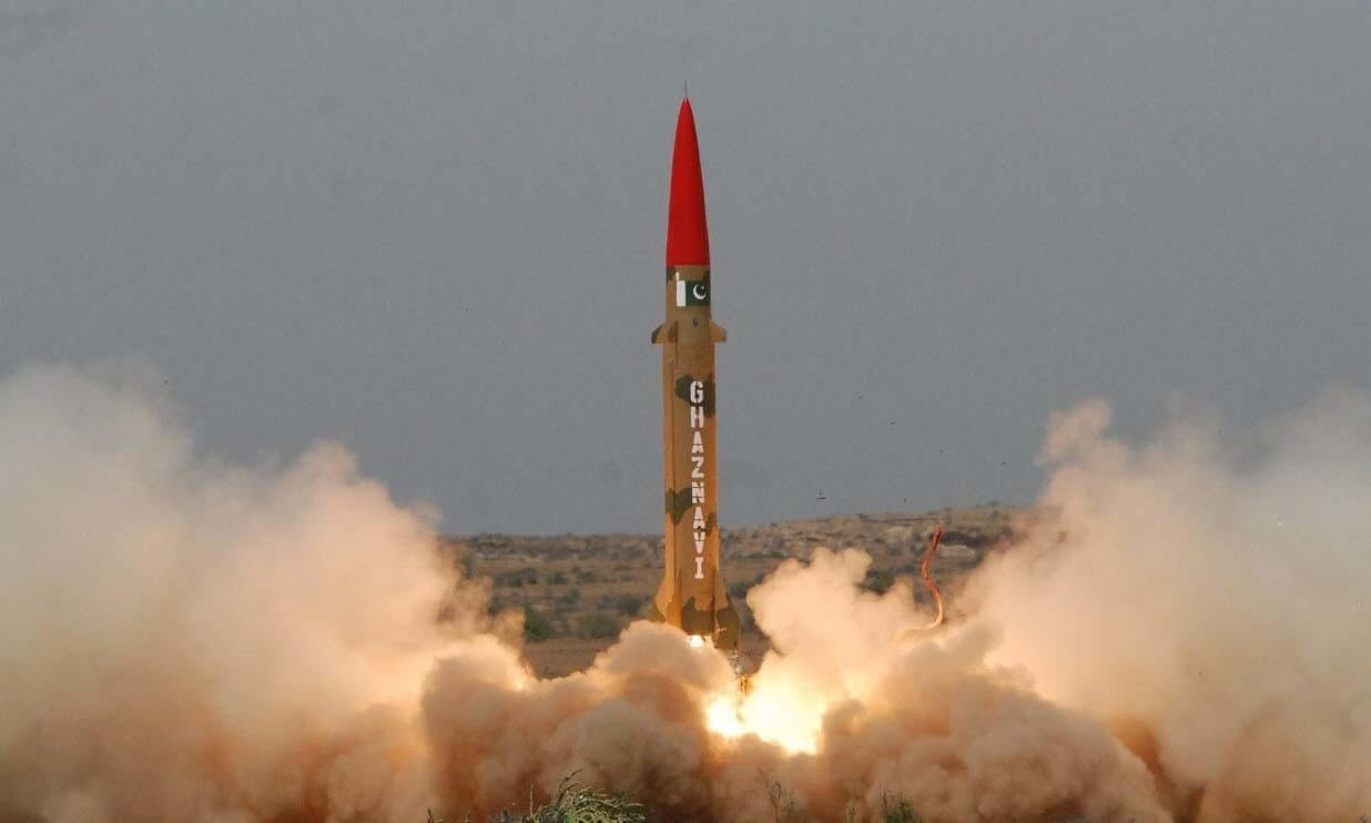 Pakistan successfully tests surface-to-surface ballistic missile Ghaznavi