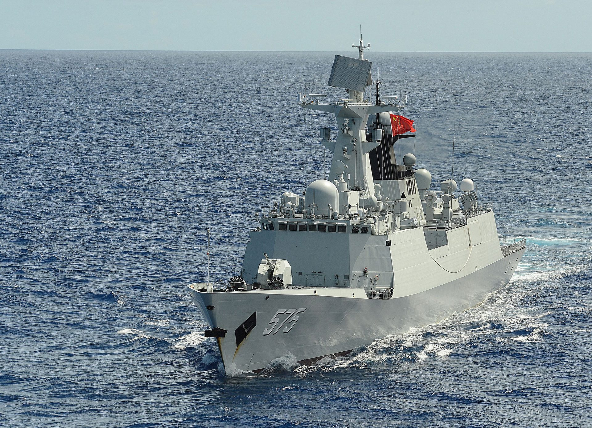 China launches third multi-role 'Type-054 Class Frigate' warship for Pakistan Navy