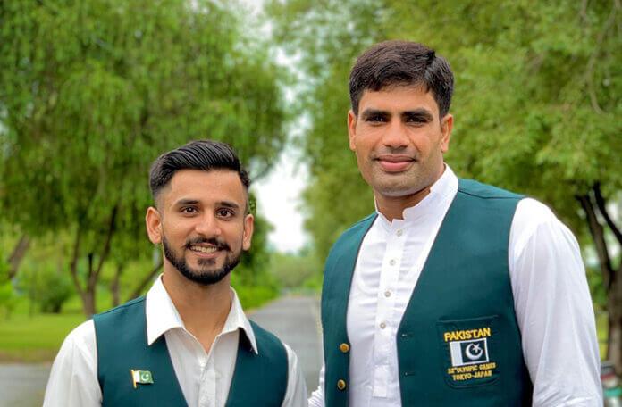 WAPDA awards Talha Talib & Arshad Nadeem cash prizes of Rs 25 lacs each