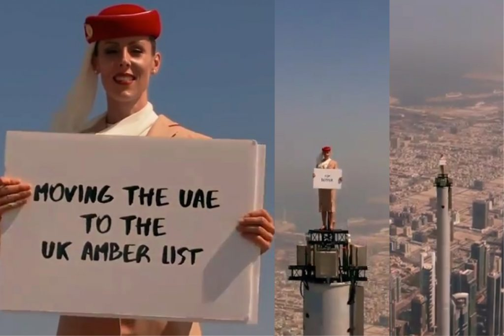 Emirates launches new advertising campaign to mark UAE's removal from UK's red list