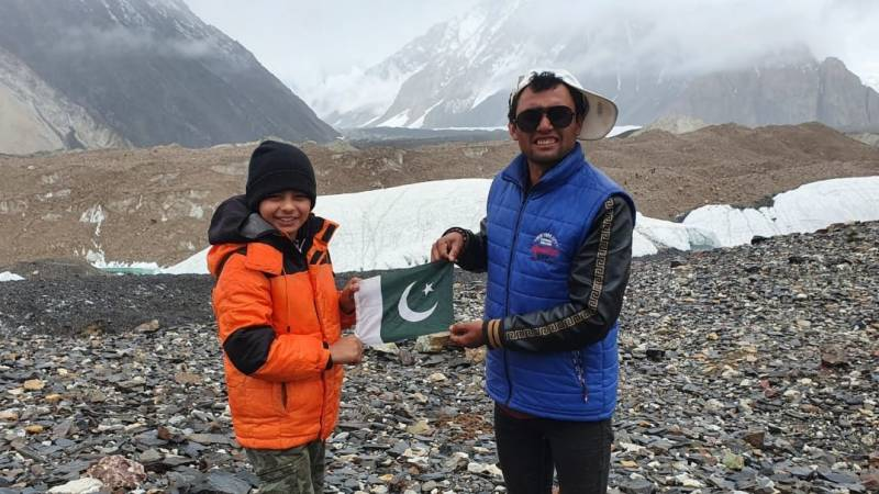 10-year-old Pakistani Yahya Aziz becomes world's youngest climber to reach K2 base camp