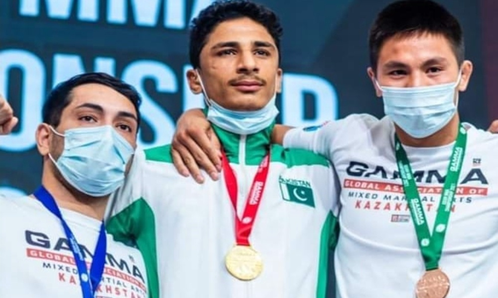 Pakistani Mixed Martial Arts fighter secures Gold Medal at Asian MMA Championships