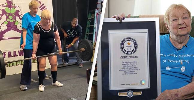 world's oldest competitive female powerlifter