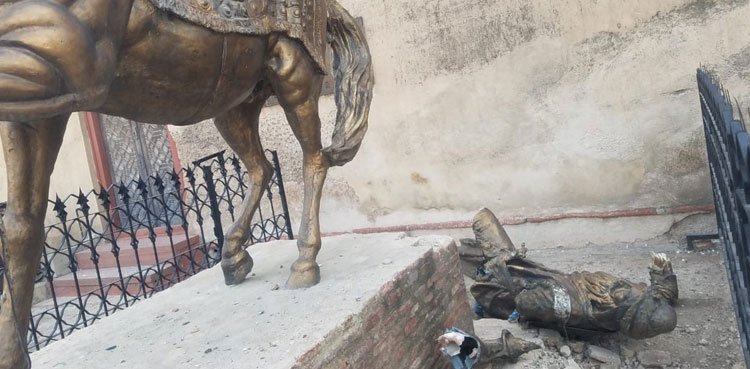 Magisterial Court grants bail to accused in Ranjit Singh statue defacement case
