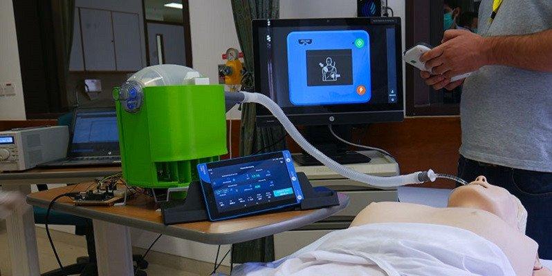 Portable ventilator developed by AKU scientists receives US patent