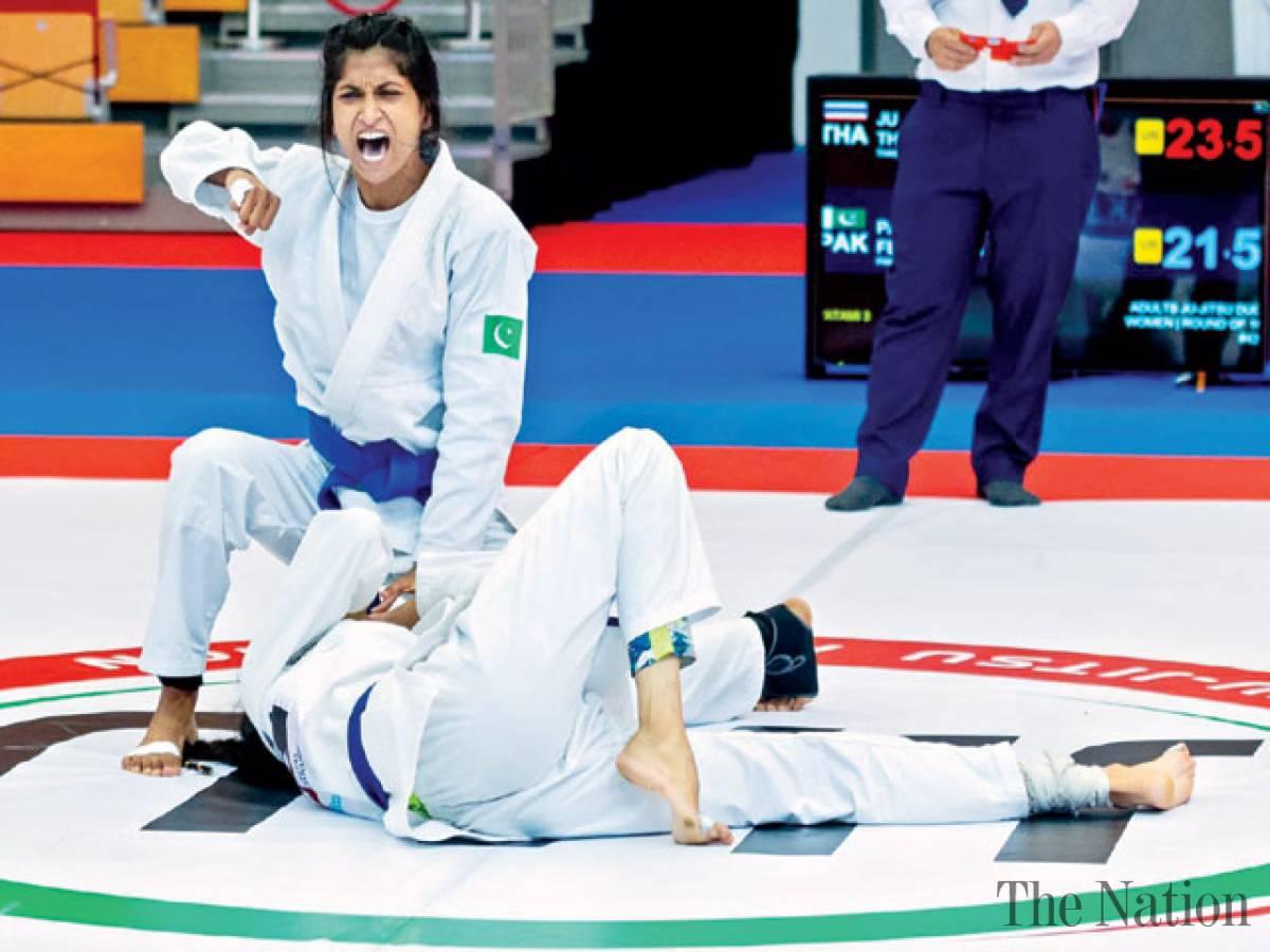 Pakistan wins 8 bronze medals at 5th Asian Ju-Jitsu Championship 2021 in Abu Dhabi
