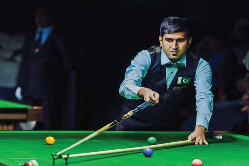 Pakistani snooker player Babar Masih defeats Indian cueist at IBSF 6 Reds World Cup