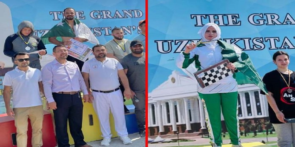 Pakistani athletes wins 4 gold medals, a bronze in worldwide cultural festival Romania