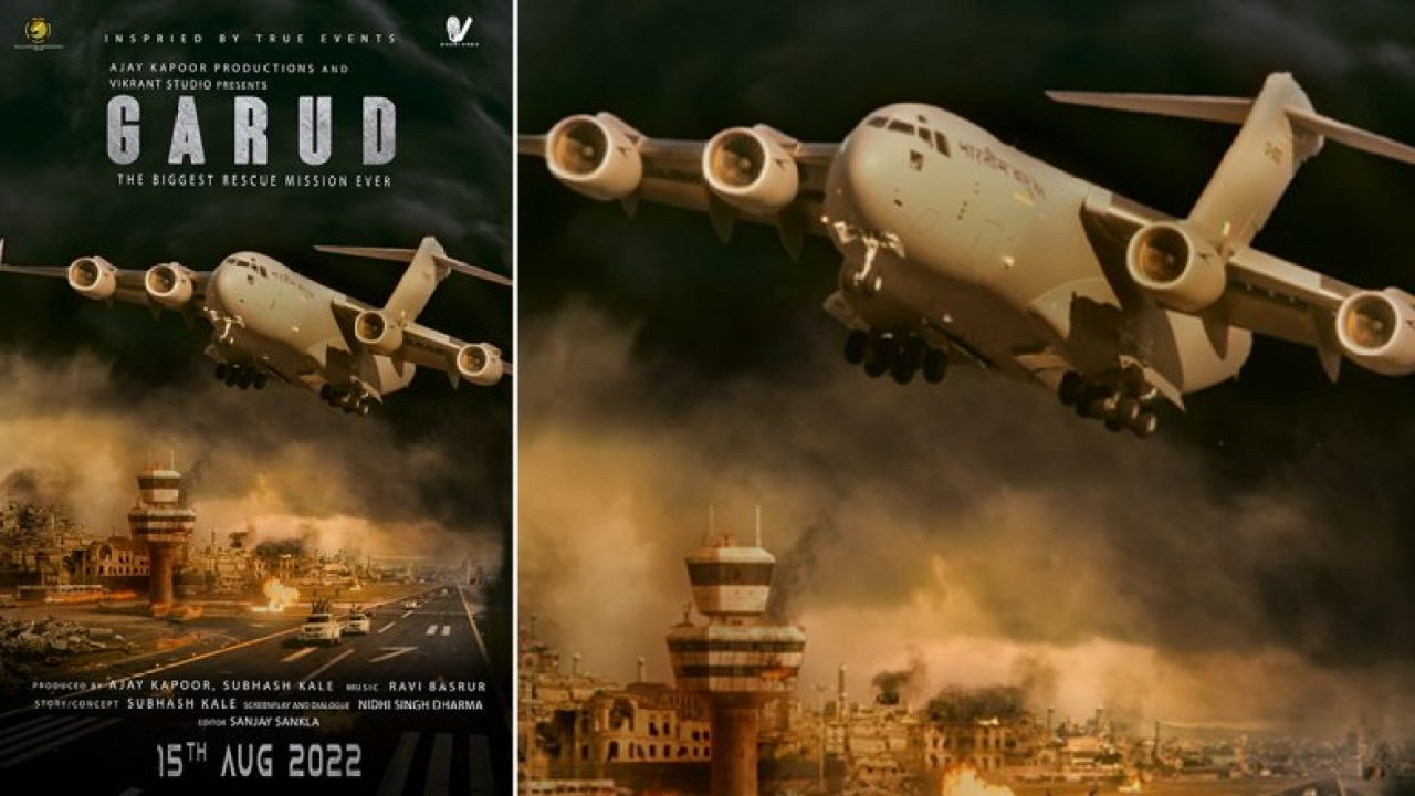 """India to launch biggest rescue operation in Afghanistan in its new film """"Garud"""""""