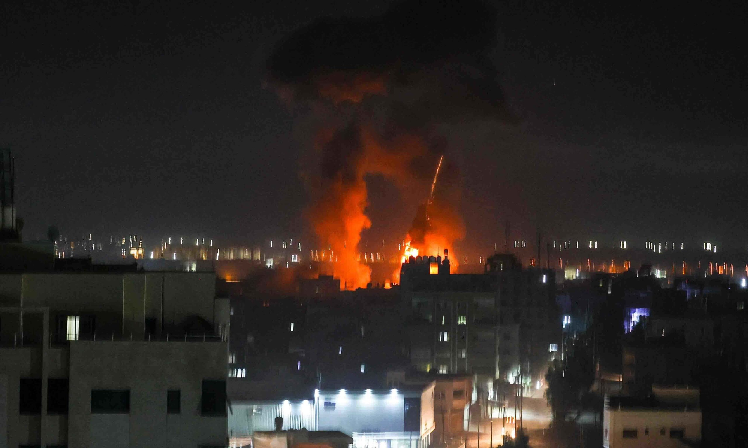 Israel once again launches airstrike on Gaza strip