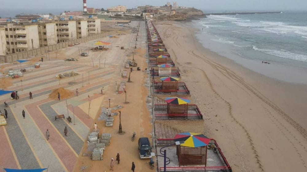 Sindh government plans to open Manora Beach shortly after major upgrades
