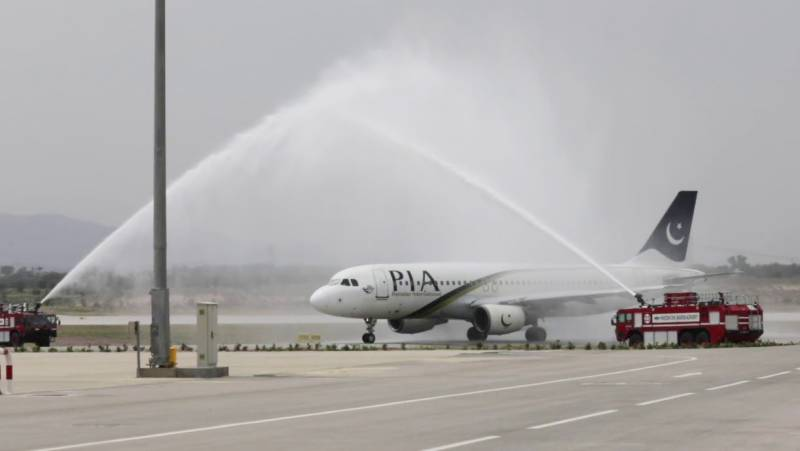 PIA flight lands in Syria